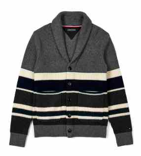 Tommy Hilfiger FW'17 Shawl Cardigan Rs. 7,999_-