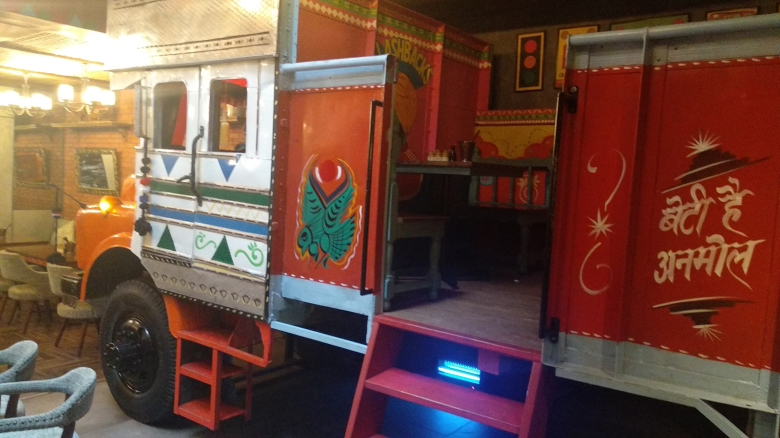 Interiors of Dhaba 2